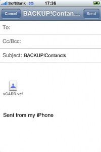 BACKUP!Contacts